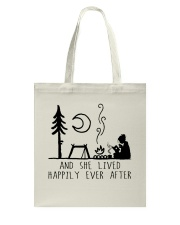 And She Lived Happily Tote Bag thumbnail