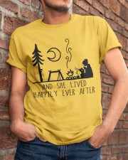 And She Lived Happily Classic T-Shirt apparel-classic-tshirt-lifestyle-26