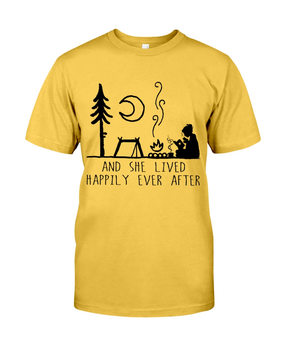 And She Lived Happily Classic T-Shirt