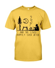 And She Lived Happily Classic T-Shirt front