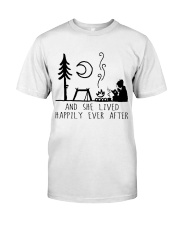 And She Lived Happily Premium Fit Mens Tee thumbnail