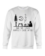 And She Lived Happily Crewneck Sweatshirt thumbnail