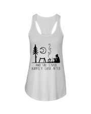 And She Lived Happily Ladies Flowy Tank thumbnail