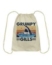 Grumpy Gills Drawstring Bag thumbnail