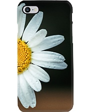 Cream with Daisy Leaves Phone Case thumbnail
