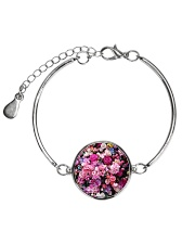 Extra dose of feminine fart - Full coverage  Metallic Circle Bracelet thumbnail