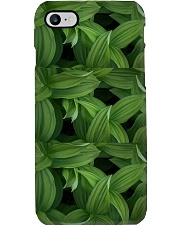 Green Natured Leaves Phone Case thumbnail