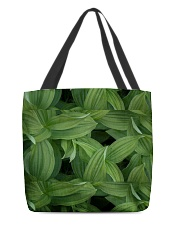 Green Natured Leaves All-over Tote thumbnail