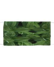 Green Natured Leaves Cloth face mask thumbnail