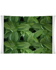 """Green Natured Leaves Wall Tapestry - 36"""" x 26"""" front"""