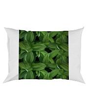 Green Natured Leaves Rectangular Pillowcase thumbnail