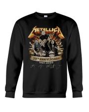 metallica 39 aniversay shirt Crewneck Sweatshirt thumbnail