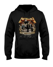 metallica 39 aniversay shirt Hooded Sweatshirt thumbnail