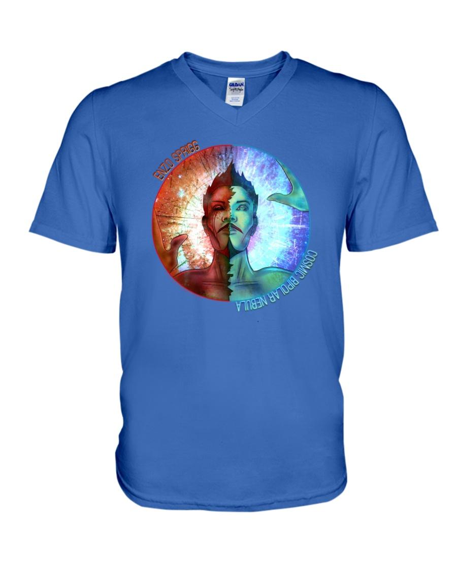 COSMIC BIPOLAR NEBULA OFFICIAL MERCHANDISE V-Neck T-Shirt