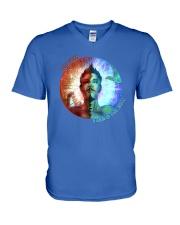 COSMIC BIPOLAR NEBULA OFFICIAL MERCHANDISE V-Neck T-Shirt front
