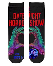 The Date Night Horror Show Official Merchandise Crew Length Socks thumbnail