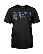 ENZO IN THE STATIC OFFICIAL MERCHANDISE Premium Fit Mens Tee thumbnail