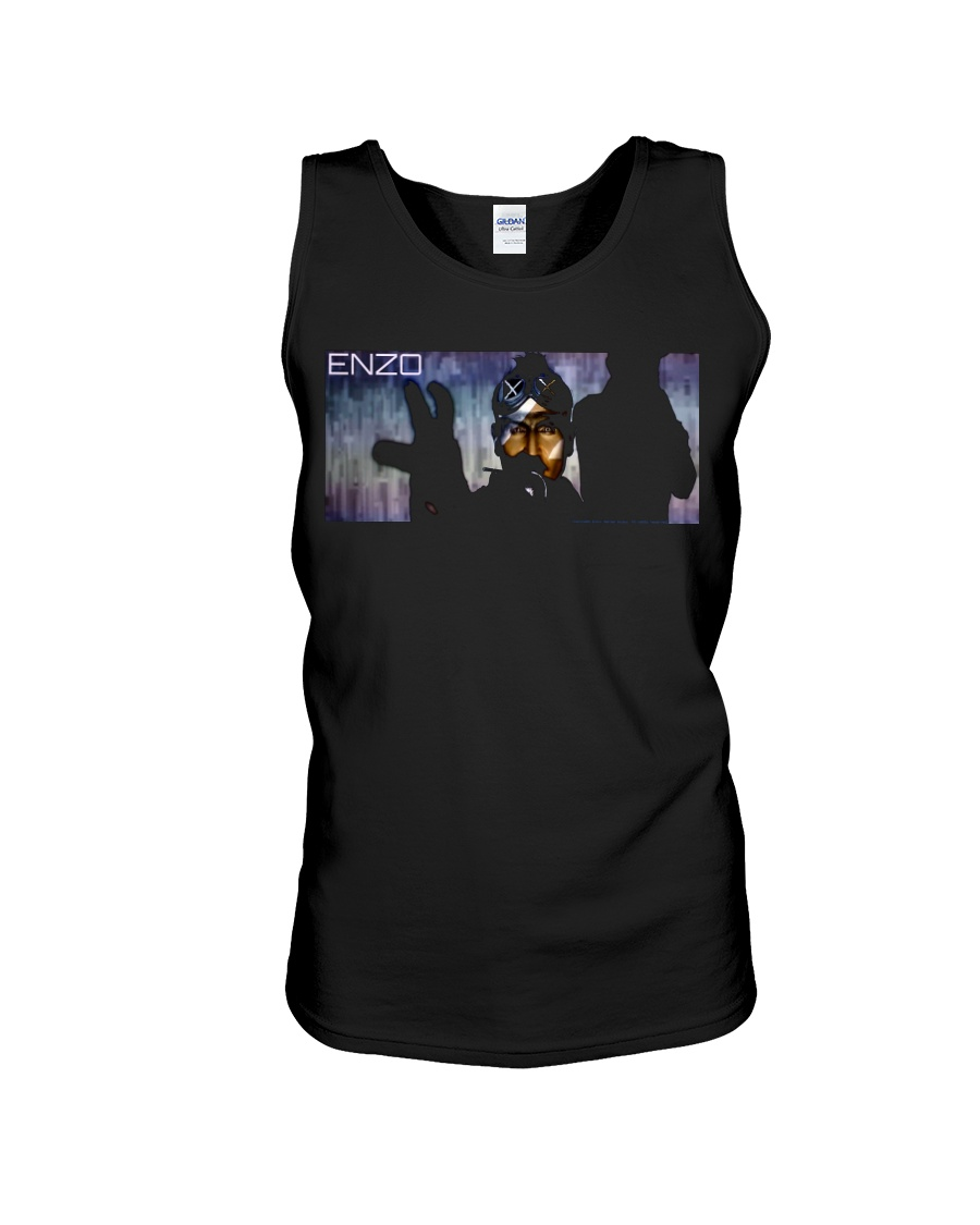 ENZO IN THE STATIC OFFICIAL MERCHANDISE Unisex Tank