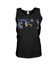 ENZO IN THE STATIC OFFICIAL MERCHANDISE Unisex Tank thumbnail