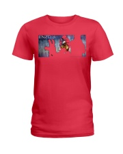 ENZO IN THE STATIC OFFICIAL MERCHANDISE Ladies T-Shirt front