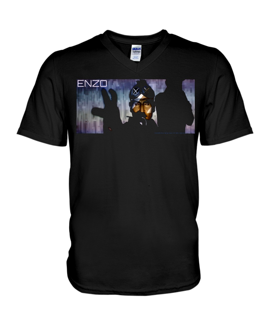 ENZO IN THE STATIC OFFICIAL MERCHANDISE V-Neck T-Shirt