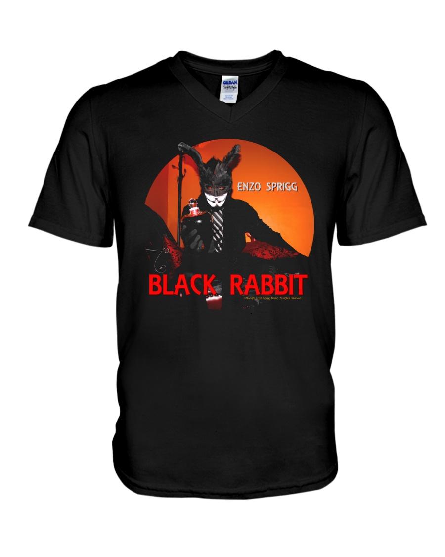 BLACK RABBIT OFFICIAL MERCHANDISE V-Neck T-Shirt