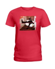 BLACK RABBIT IN A BATH TUB OFFICIAL MERCHANDISE Ladies T-Shirt front