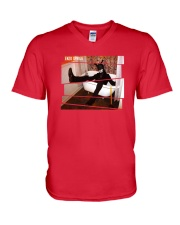 BLACK RABBIT IN A BATH TUB OFFICIAL MERCHANDISE V-Neck T-Shirt front