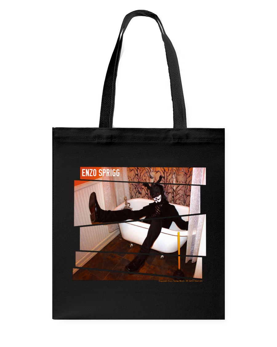 BLACK RABBIT IN A BATH TUB OFFICIAL MERCHANDISE Tote Bag