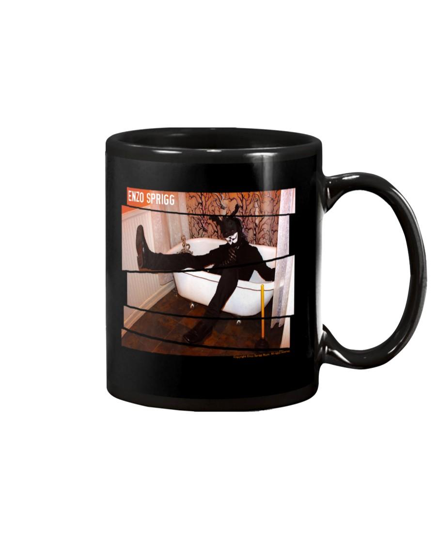 BLACK RABBIT IN A BATH TUB OFFICIAL MERCHANDISE Mug