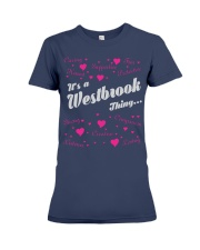 WESTBROOK FULL HEART THING SHIRTS Premium Fit Ladies Tee front