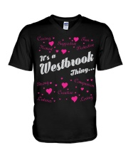 WESTBROOK FULL HEART THING SHIRTS V-Neck T-Shirt thumbnail