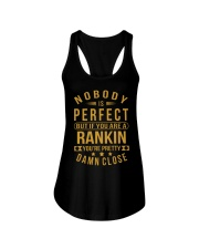 NOBODY PERFECT RANKIN NAME SHIRTS Ladies Flowy Tank tile