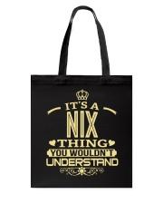 NIX THING GOLD SHIRTS Tote Bag thumbnail