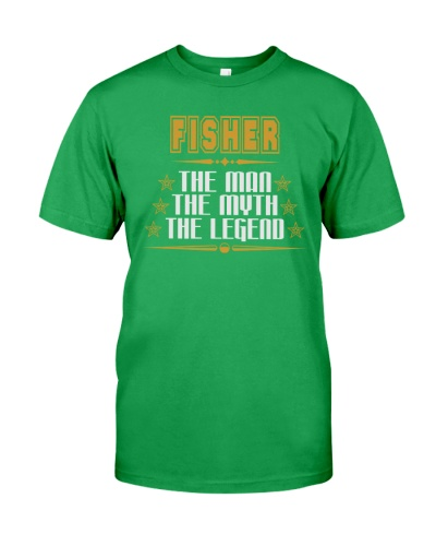 FISHER THE LEGEND JOB SHIRTS