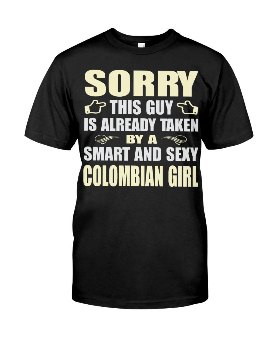 SEXY COLOMBIAN GIRL SHIRTS Classic T-Shirt