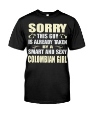 SEXY COLOMBIAN GIRL SHIRTS Premium Fit Mens Tee thumbnail