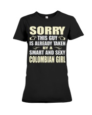 SEXY COLOMBIAN GIRL SHIRTS Premium Fit Ladies Tee thumbnail