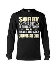 SEXY COLOMBIAN GIRL SHIRTS Long Sleeve Tee tile