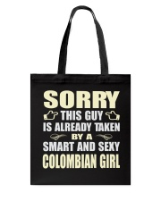 SEXY COLOMBIAN GIRL SHIRTS Tote Bag tile