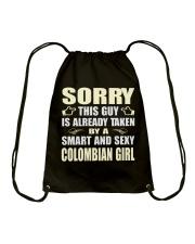 SEXY COLOMBIAN GIRL SHIRTS Drawstring Bag thumbnail
