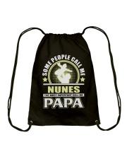 CALL ME NUNES PAPA THING SHIRTS Drawstring Bag thumbnail