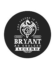 Bryant d1 Circle Coaster front