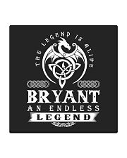 Bryant d1 Square Coaster front