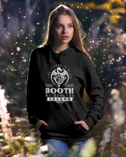 Booth d1 Hooded Sweatshirt lifestyle-holiday-hoodie-front-5