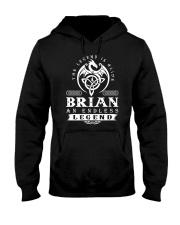 Brian d1 Hooded Sweatshirt thumbnail