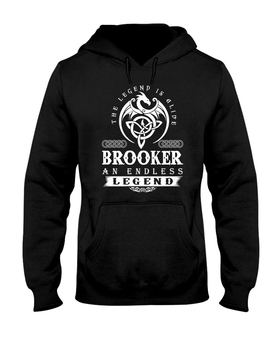 Brooker d1 Hooded Sweatshirt