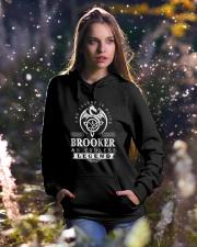 Brooker d1 Hooded Sweatshirt lifestyle-holiday-hoodie-front-5