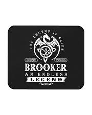 Brooker d1 Mousepad front