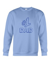 Number 1 Dad Shirt Crewneck Sweatshirt thumbnail